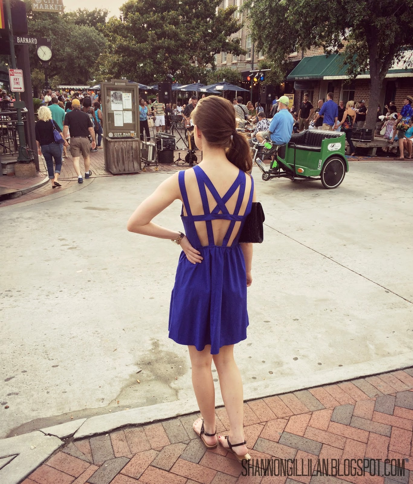 Savannah Georgia City Market www.shannongillilan.blogspot.com