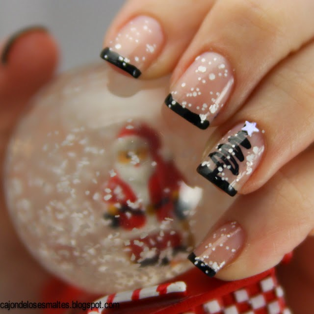 Classy Christmas Nails  She Uncovered