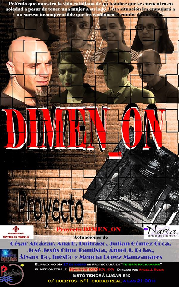 "MEDIOMETRAJE ""PROYECTO DIMEN_ON"" YA EN YOUTUBE"
