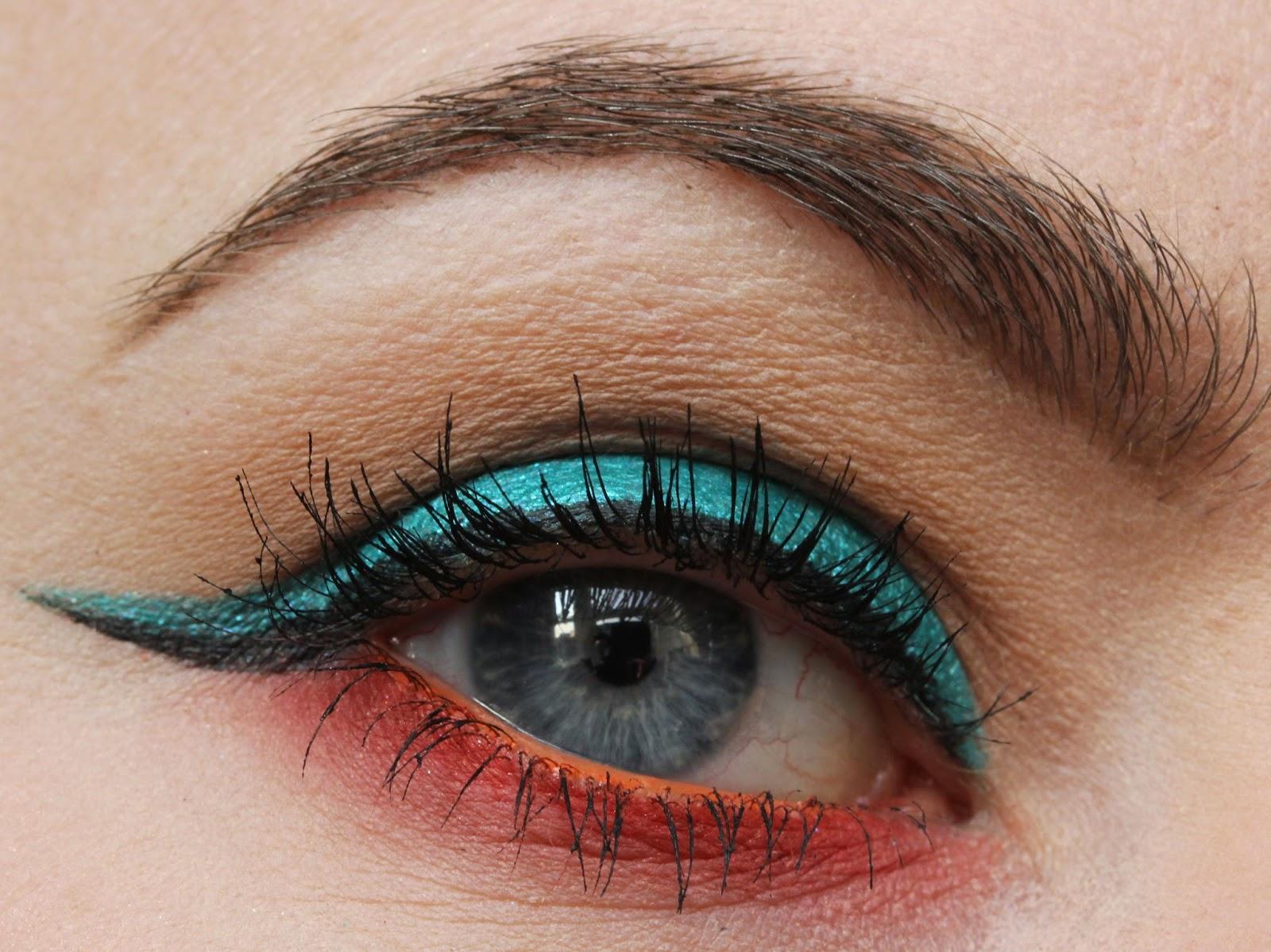 Sugarpill Darling eye look