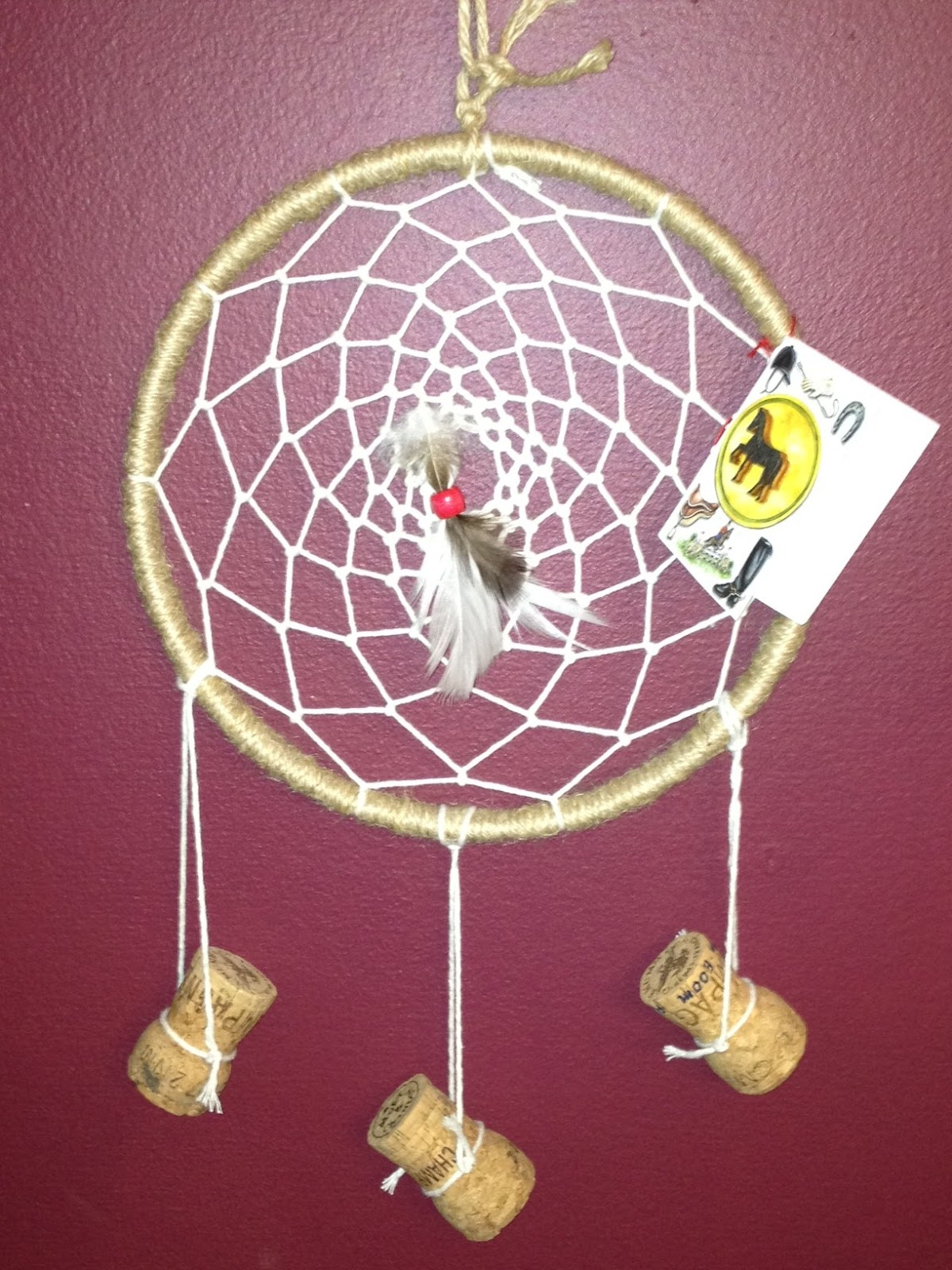 spinning dream catcher instructions