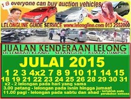 24 LELONGAN 01 - 31/07/2015  JUALAN KENDERAAN LELONG SEKITAR L/KLANG - K/LUMPUR/ SELANGOR