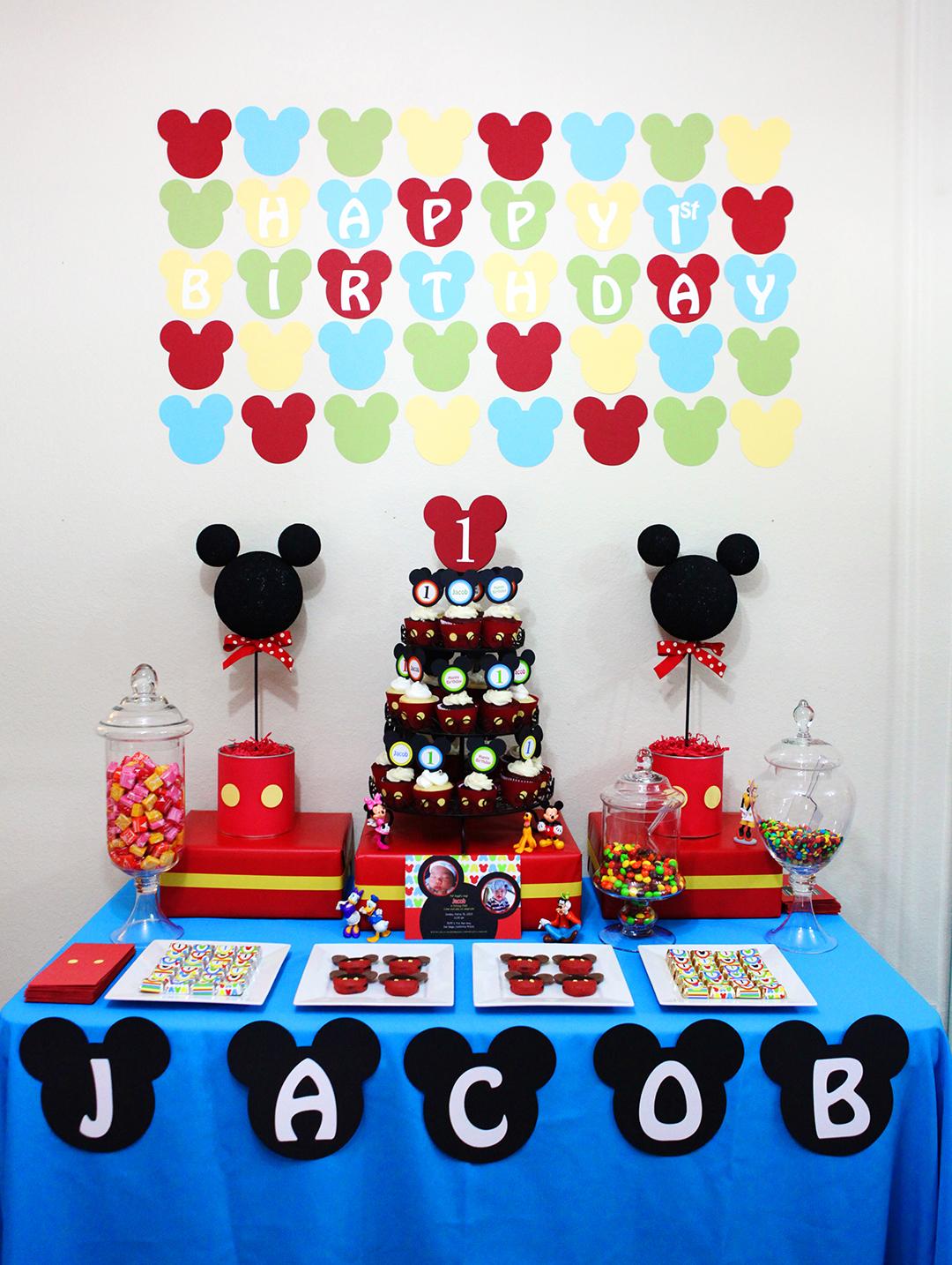 Invitation Parlour Mickey Mouse Birthday Party