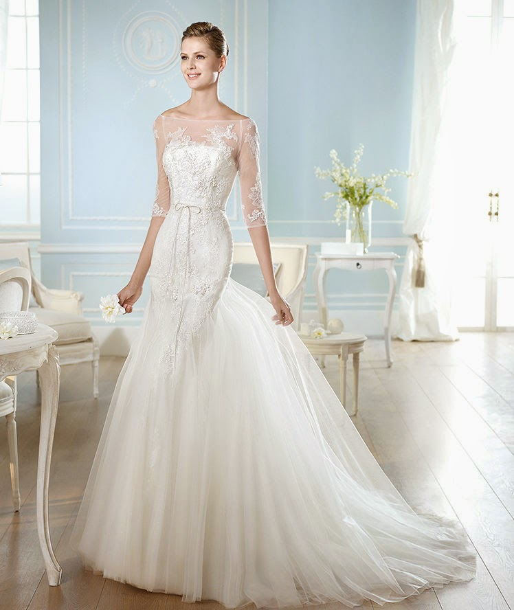 Amazing San Patrick Wedding Dress 2014 Bridal Collection