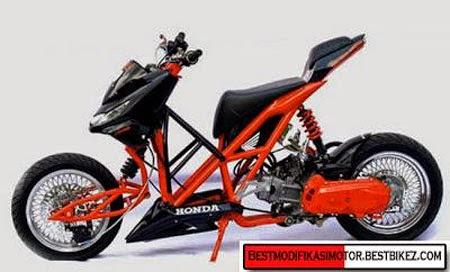 modifikasi motor beat drag