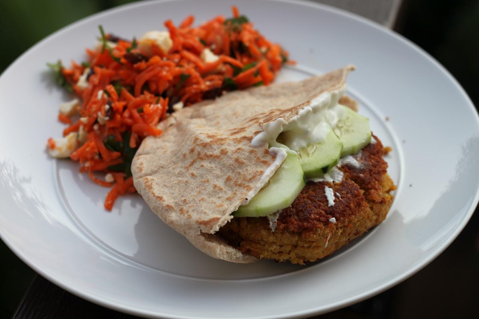 In Fine Fettle: Greek-Style Quinoa Burgers