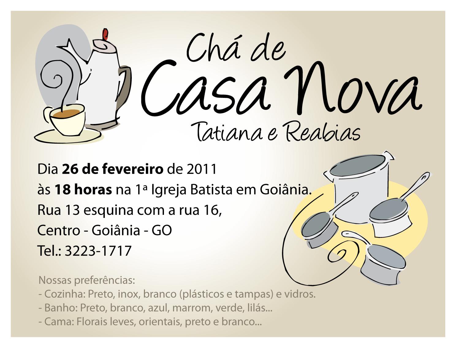 Well Known Lista Cha Casa Nova Qr65 Ivango