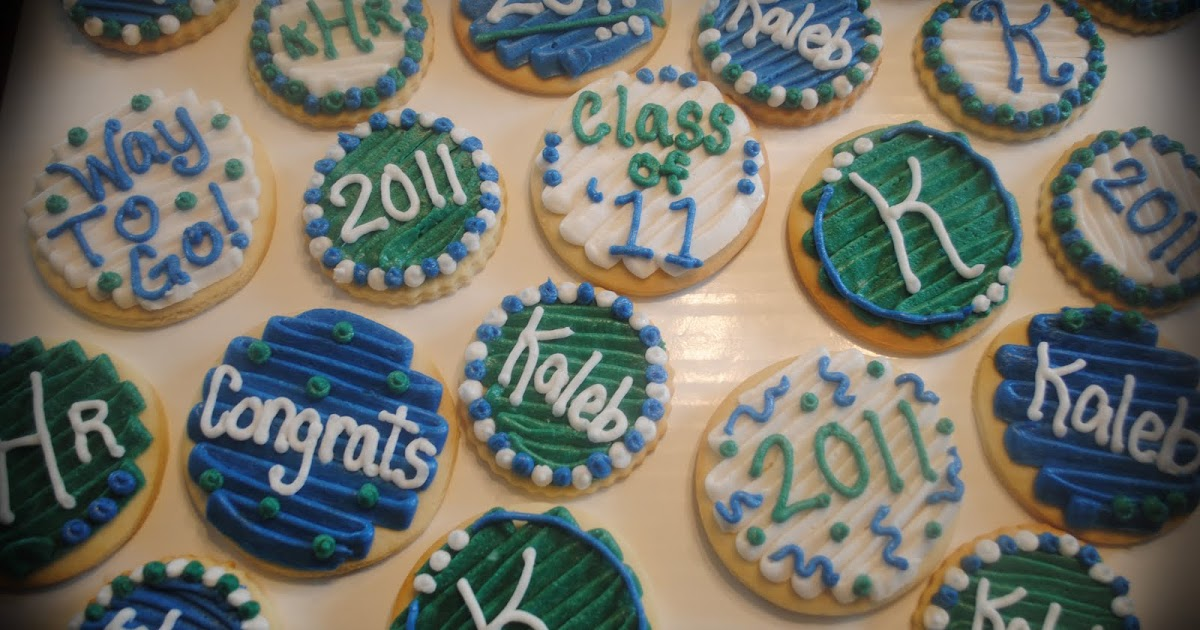 Candace 39 S Cookie Creations Graduation Edmond Santa Fe