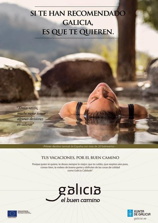 Campaña de turismo de Galicia, Termas Outariz, Ourense, Spa