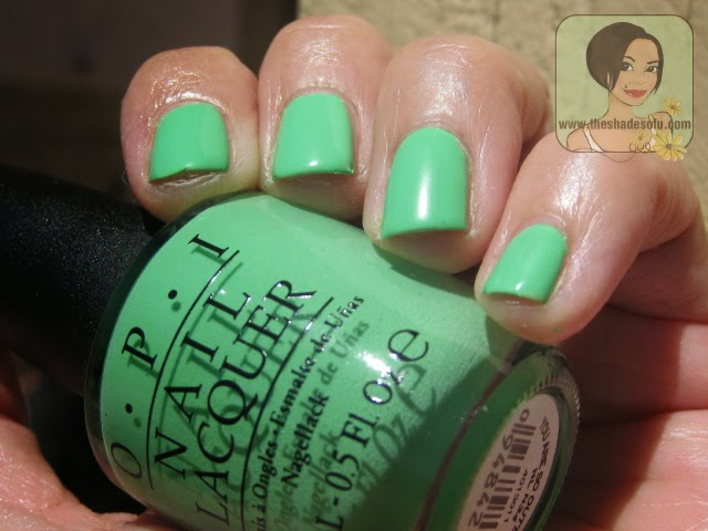 OPI You're So Outta Lime