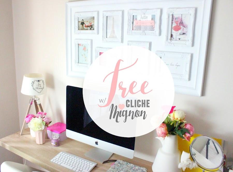 Vis ma vie de blogueuse #6 | Utiliser des photos libres de droit pour illustrer ses articles avec Cliché Mignon ! julieetsesfutilites.blogspot.fr