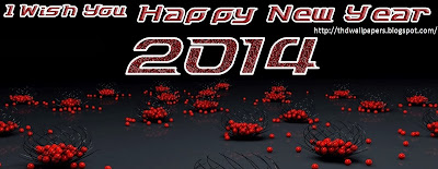 Latest and Unique Happy New Year Wishes Greetings Facebook Cover Images 2014 Backgrounds Wallpapers
