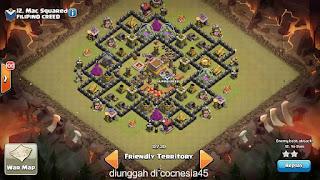 Base Clash of Clans TH 8 Terbaik
