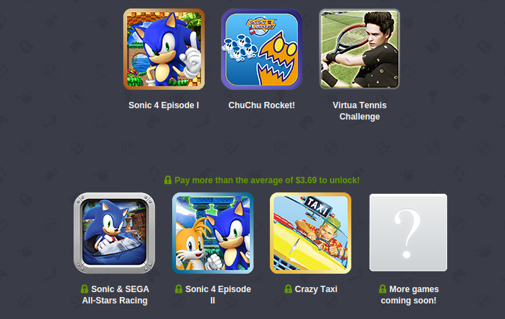Android exclusive Humble SEGA Mobile Bundle
