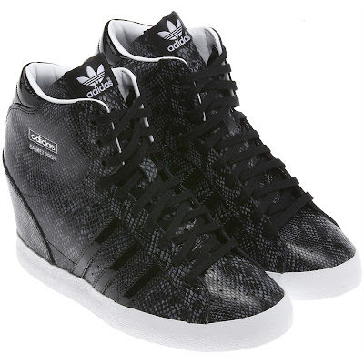 Adidas Wedge-Heeled Sneakers