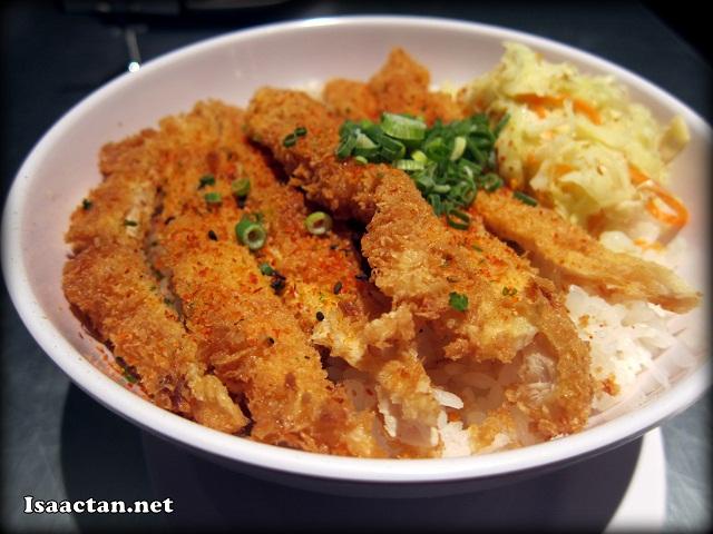 Chicken Katsu Don - RM10