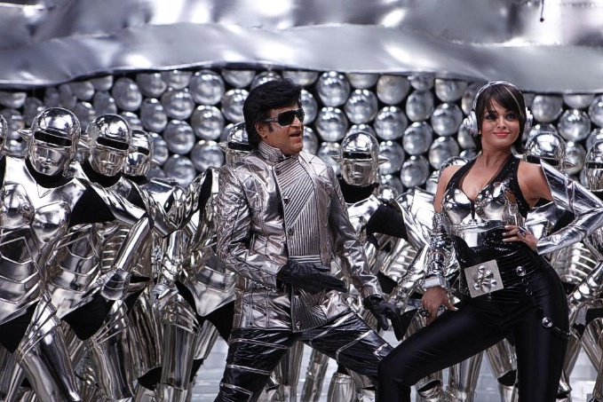 Rajinikanth and Aishwarya Rai in Tamil film Enthiran(The Robot)-12 Post-55-0-39976300-1305793006