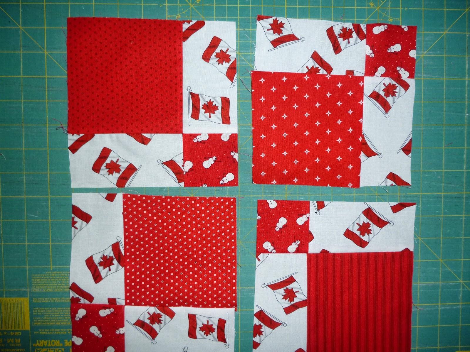 linda u0027s quiltmania canadian flag quilt 1