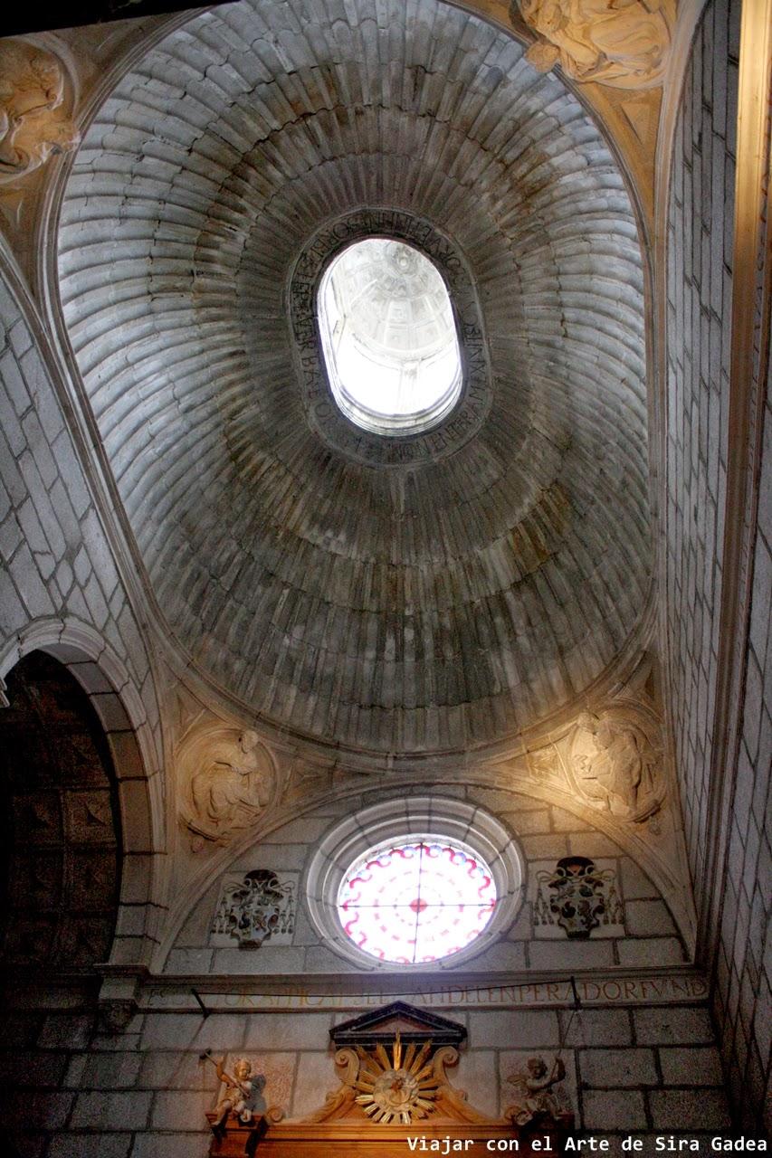 Capilla Piedad catedral Ávila