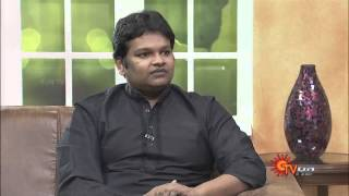 Virundhinar Pakkam – Director Gibran – Sun TV Show 19-08-2013