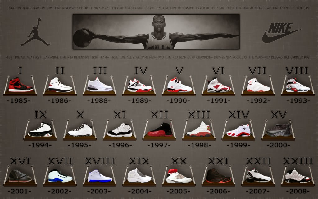 air jordan shoe archive