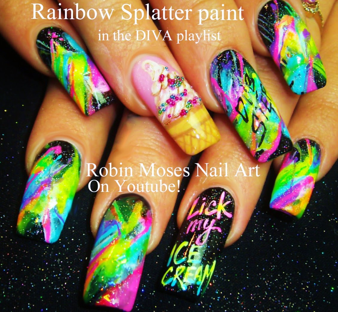 Nail Art Ideas » Geek Nail Art - Pictures of Nail Art Design Ideas