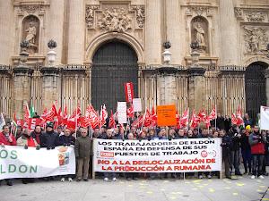Manifestación del 28 de febrero en Jaén