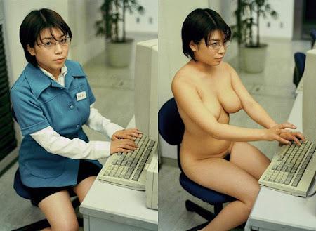 japonesinha de peitões pontudos
