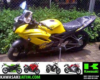 Ninja KRR 150RR Kuning