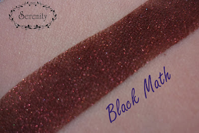 Black Rose Minerals Black Math Swatch