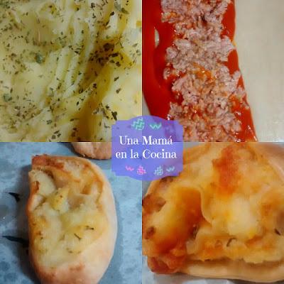 Fotos de paso a paso receta Rollitos de patata y atún