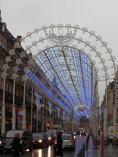 Christmas lights in Lille, France