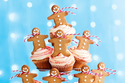 Gingerbread man Christmas tree Recipe