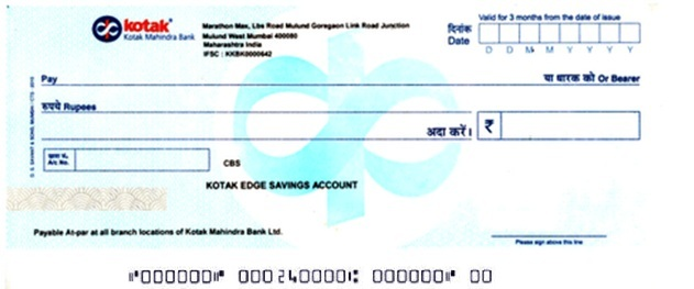 how to cancel icici bank cheque