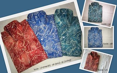 Baju Batik Pria 5ABC