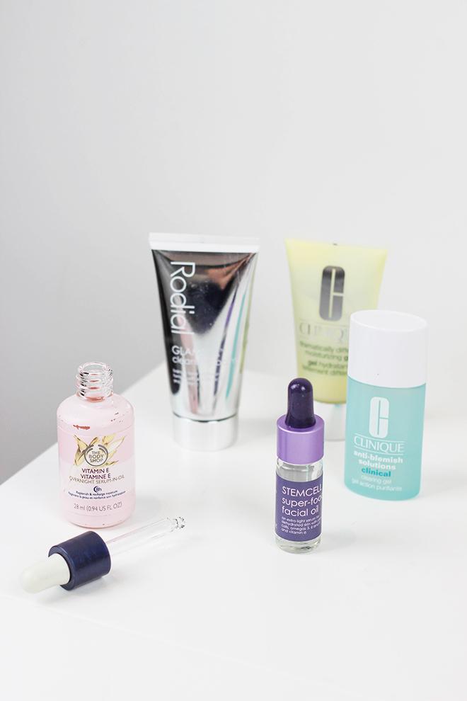 2014 Skincare Favourites, Rodial, Bodyshop, Clinque