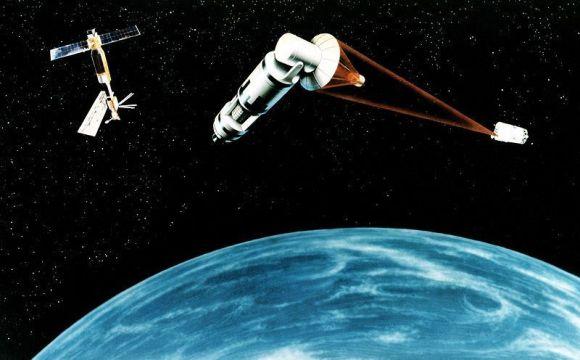 Ilustrasi Senjata Penghancur Satelit