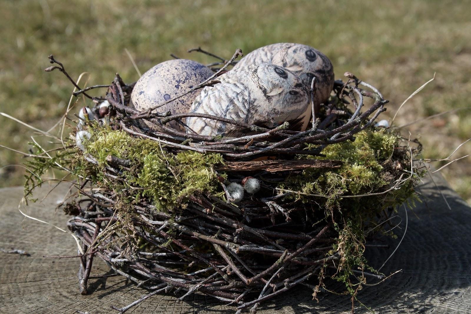 Vytvořte si hnízdo