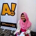Fatin at Ardan radio 105.9FM Bandung