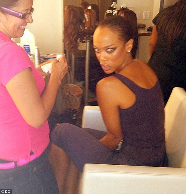 "Tyra Banks Teenager: ""Check The Juicy Muffin Top Of My Back! Perfect Is Boring"
