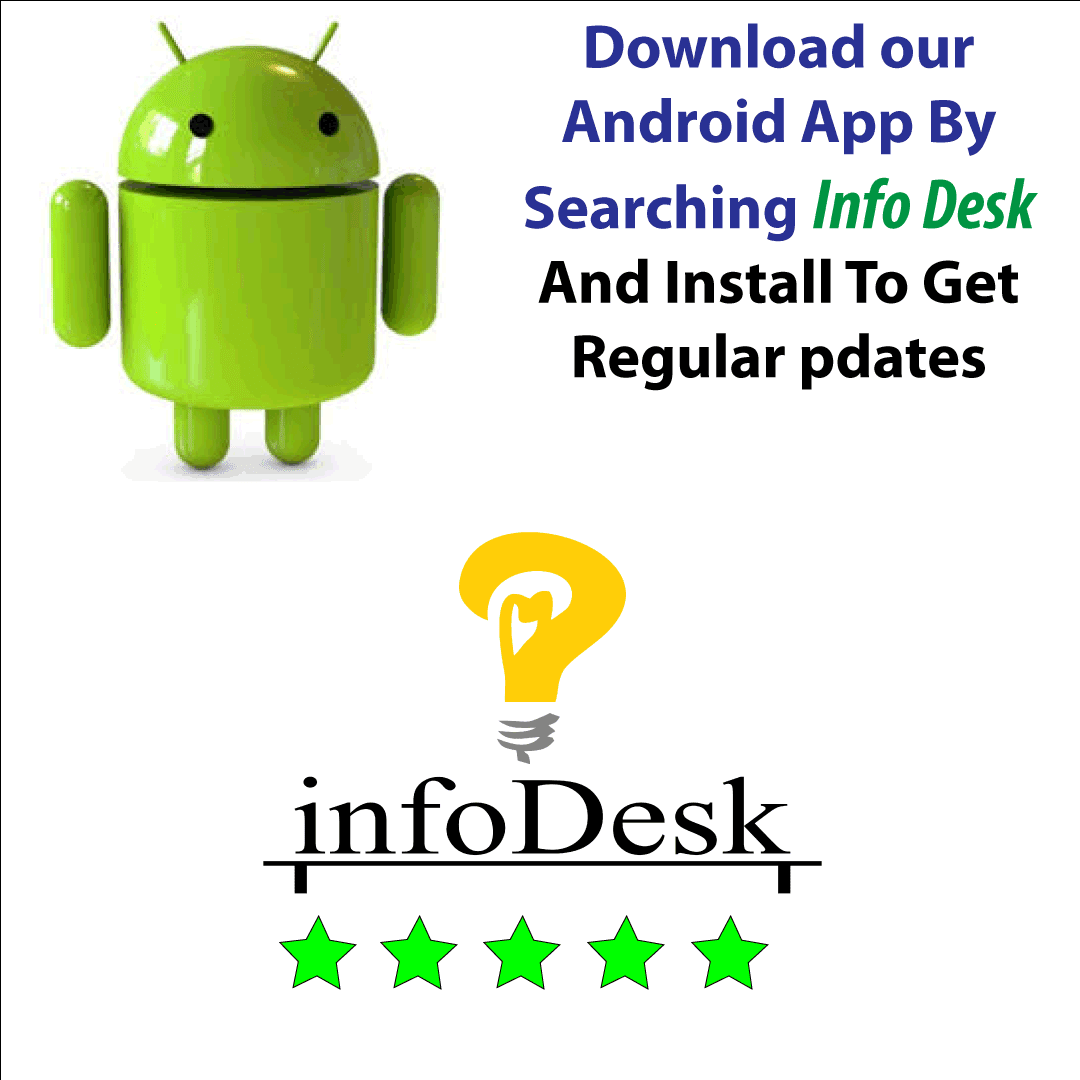 Info Desk Android App