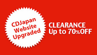 CDJapan Clearance Sale up to 70% OFF