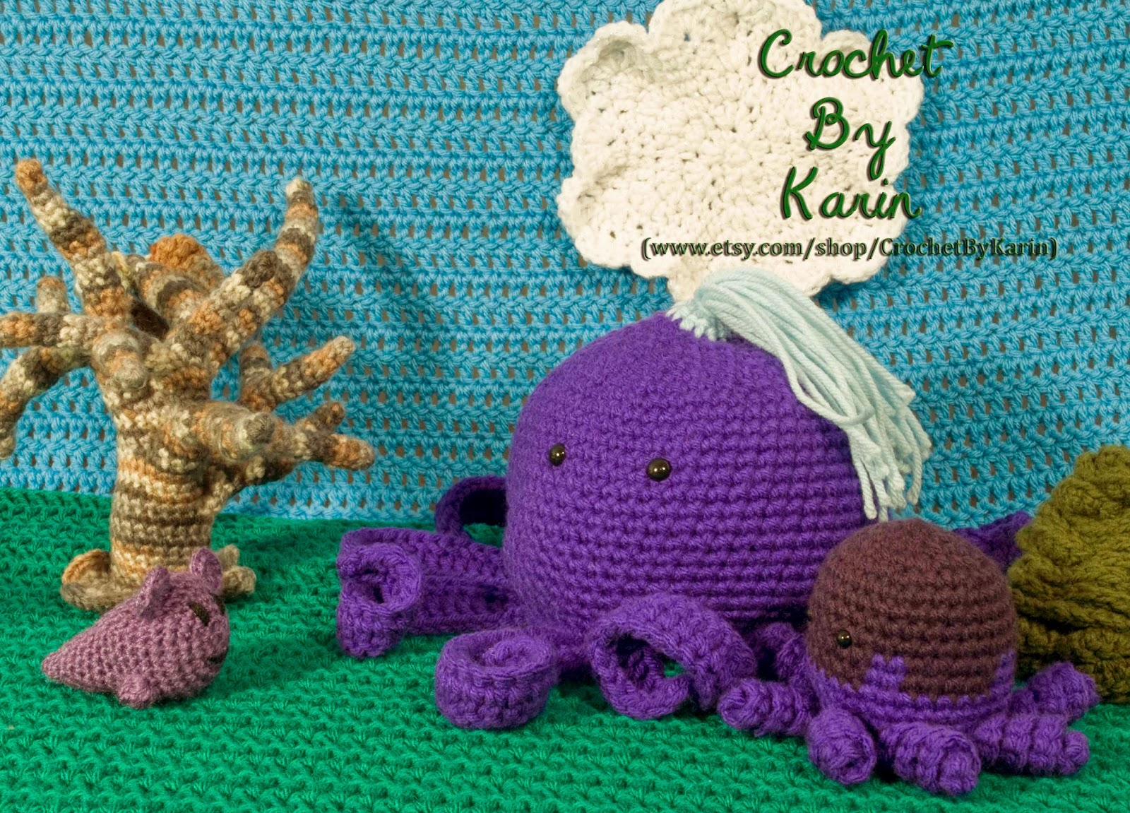 CrochetByKarin: Crochet Monster Dating Problems