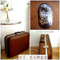 Venta y alquiler de maletas antiguas online para bodas y eventos