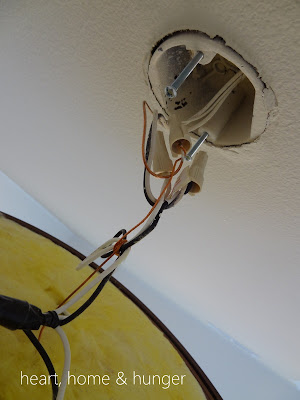 tutorial how to wire a lighting fixture