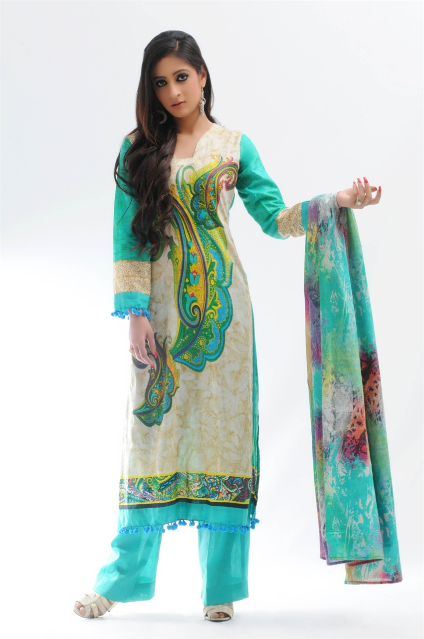 Pakistani Lawn Suits Designs 2012 Designs Styles