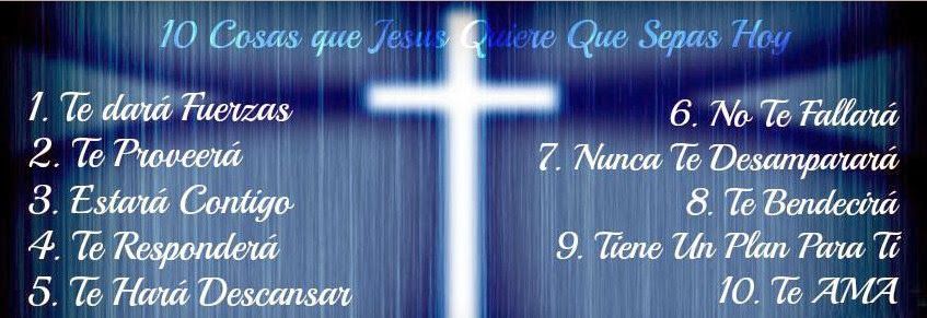 10 Frases de Jesús para ti