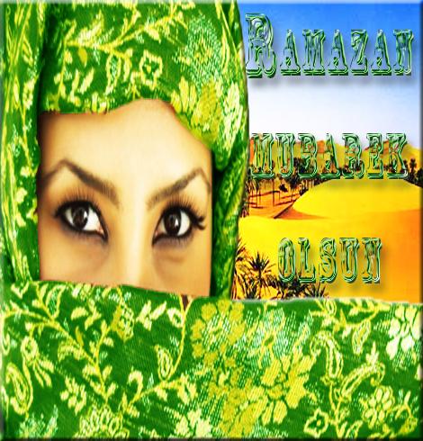 Čestitka za Ramazan  Oči pustinje
