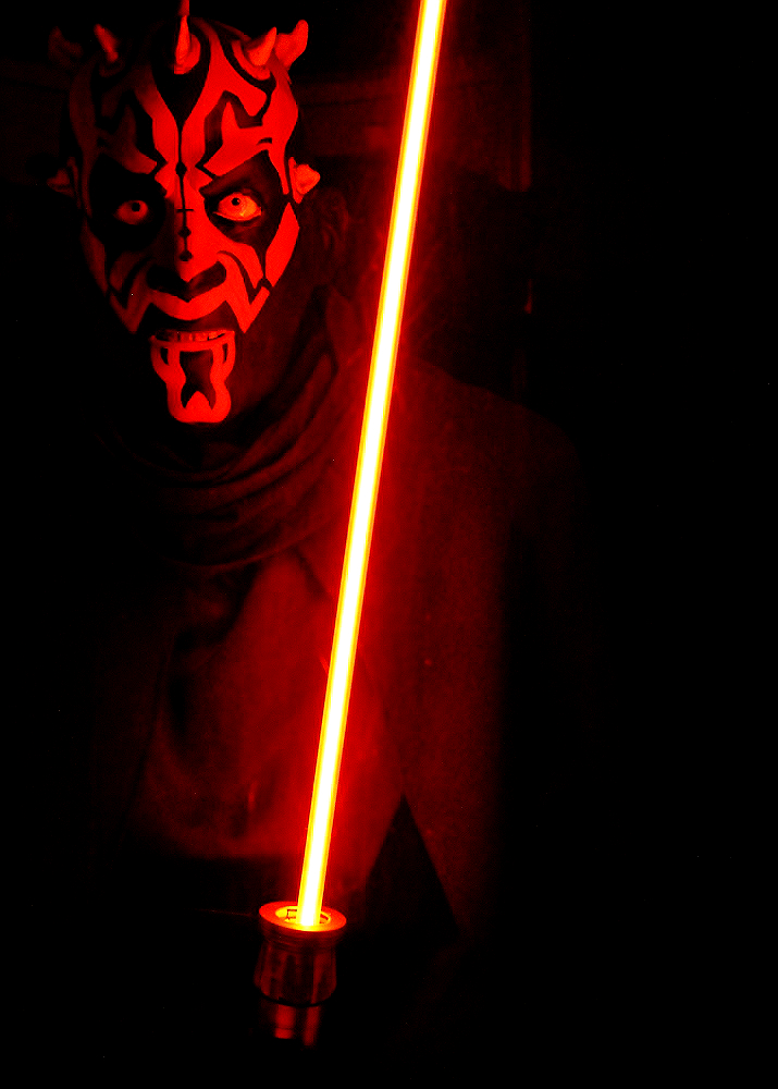 Darth Maul- The Wax Works: Newport, Oregon (Mariner's Square)