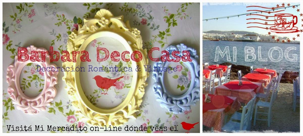 Decoración Romántica Vintage